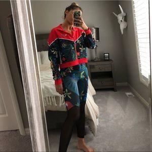 Limited addition Nike Floral jacket